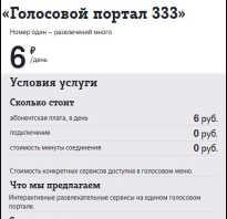 Голосовое меню теле2