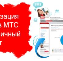 Детализация вызовов мтс личный кабинет