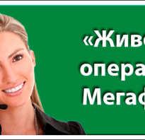 Как связаться с оператором мегафон без елены