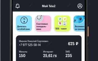 Скачать приложение теле2 личный кабинет