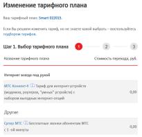 Мтс тариф смарт новосибирская область