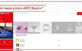 Приложение мтс музыка